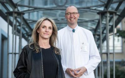 Von Sehnen und Senkungsbeschwerden: Heike Stockmann ind Frankfurt mit weltweit neuer OP-Methode operiert
